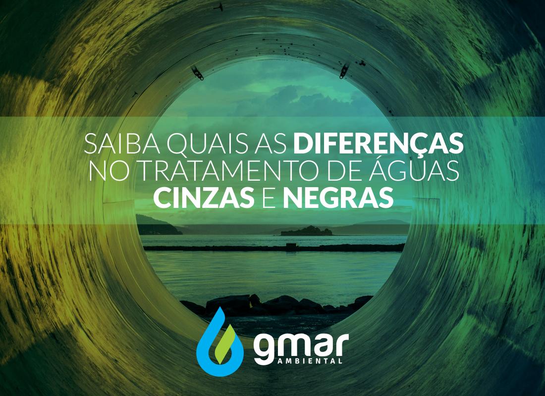 Gmar Ambiental - imagem água cinza e negra
