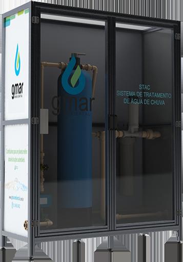 Gmar Ambiental - STAC - Sistema de tratamento de água de chuva - 01