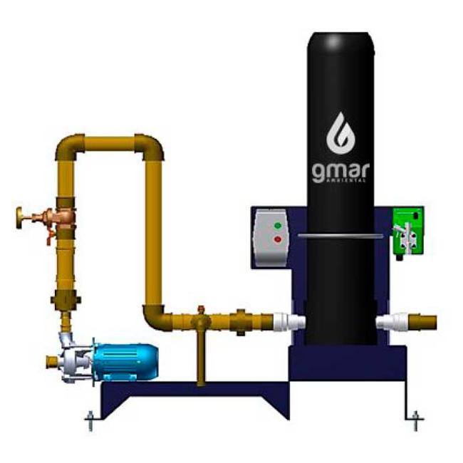 Gmar Ambiental - STAC - Sistema de tratamento de água de chuva - 04