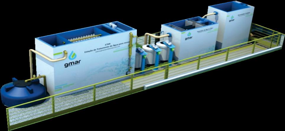 Gmar Ambiental - ETEO - Estação para Tratamento de Efluentes Oleosos (processo físico-químico) - 01