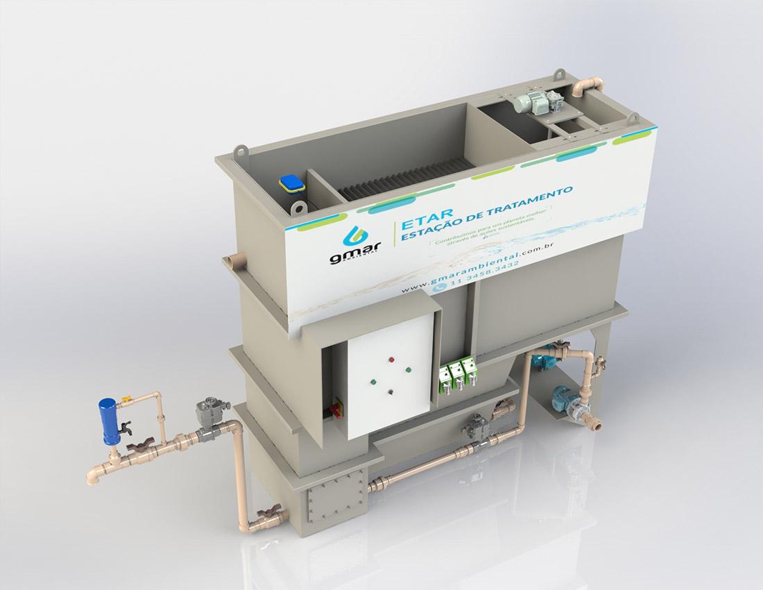 Gmar Ambiental - ETAR - Estação de tratamento de água para reuso - 01