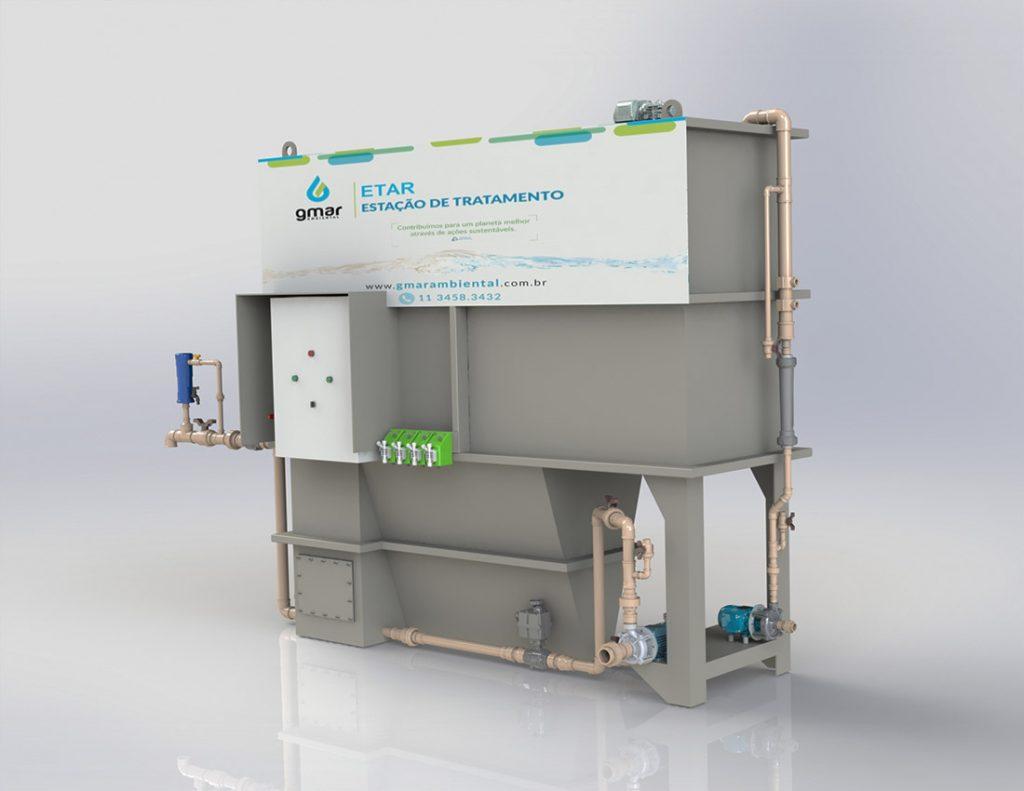 Gmar Ambiental - ETAR - Estação de tratamento de água para reuso - 02