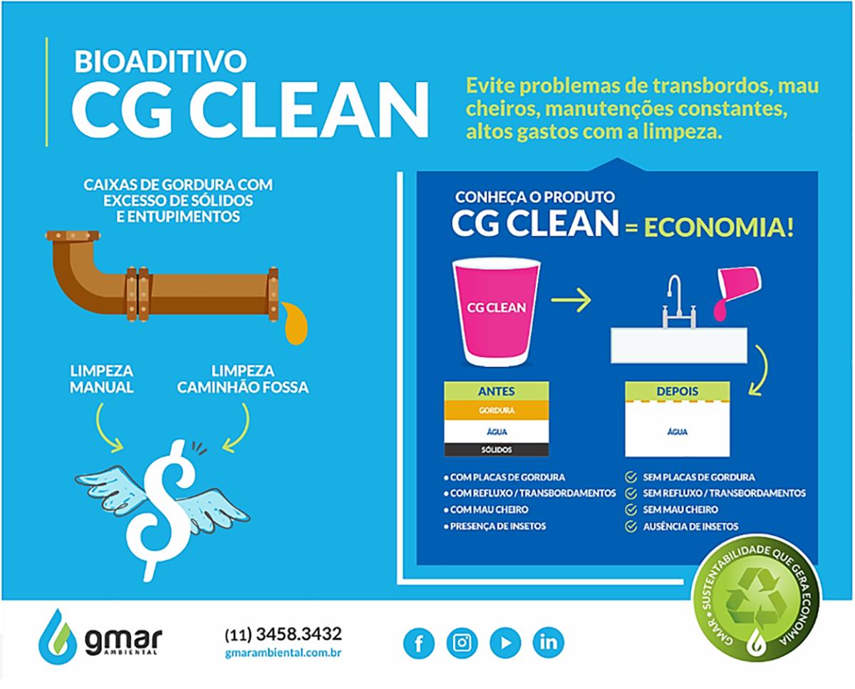 Gmar ambiental - Bioaditivo CG Clean
