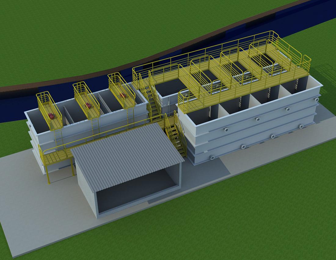 Gmar Ambiental - ETAP - Estação de Tratamento de Água Potável - 01