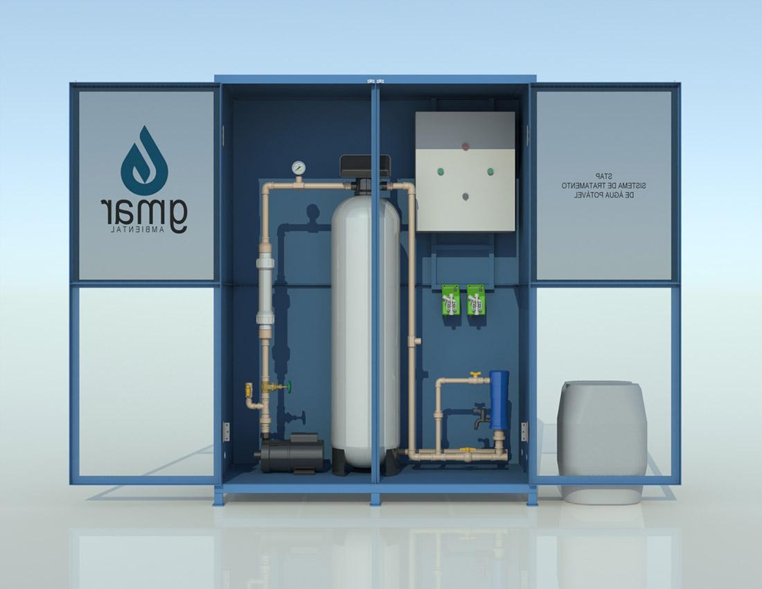Gmar Ambiental - ETAP - Estação de Tratamento de Água Potável - 03