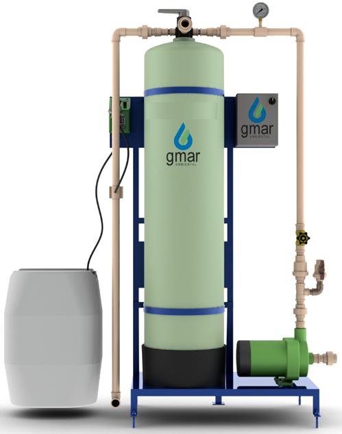 Gmar Ambiental - Filtro de Zeólitas - Remoção de Ferro e Manganês