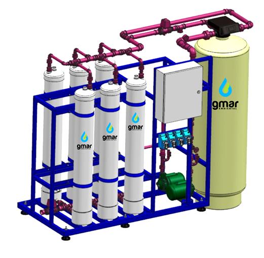 Gmar Ambiental - Sistemas de Ultrafiltração - 05