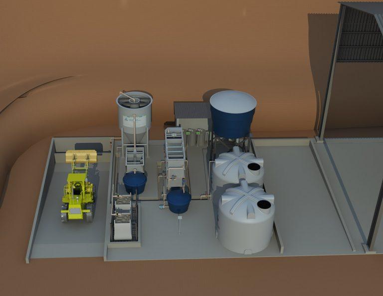 STEO - Sistema de tratamento de Efluentes Oleosos (Processo Físico-Químico) - 03