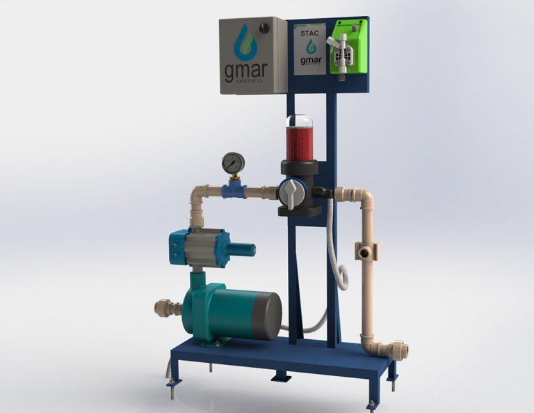 Gmar Ambiental - Stac - sistema de tratamento de água de chuva - 11