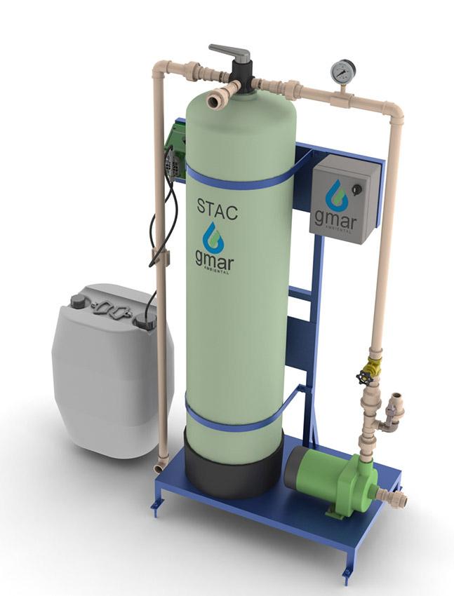 Gmar Ambiental - STAC - Sistema de tratamento de água de chuva - 02