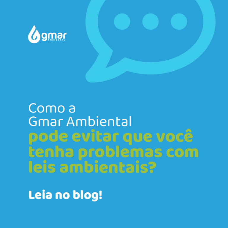 Gmar Ambiental - Evitar problemas com leis ambientais