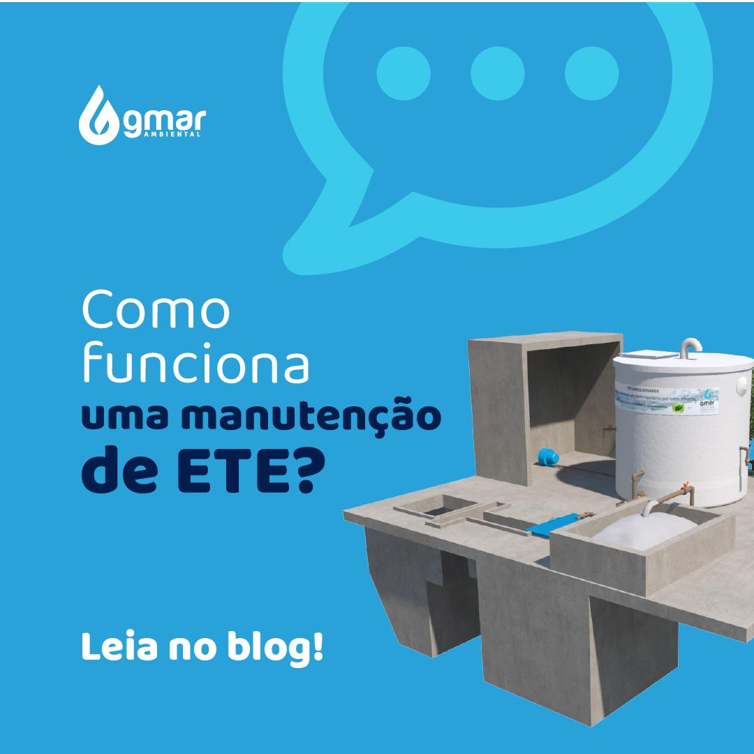 Gmar Ambiental - Manutenção ETE