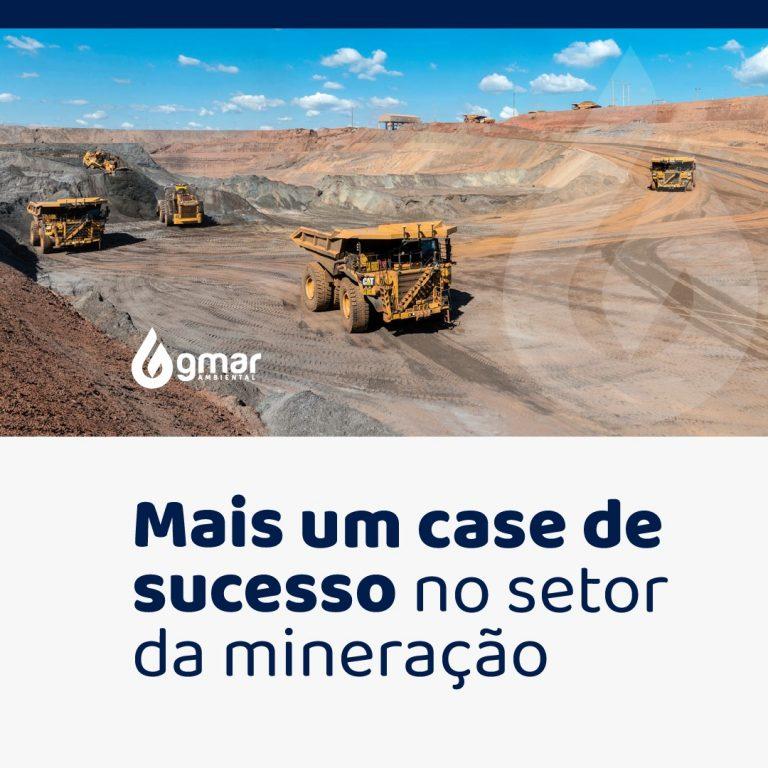 Gmar Ambiental - Operação de ETEs no setor de mineração